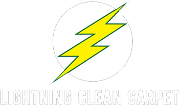 Lightning Clean Carpet Logo on top