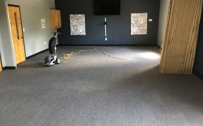 dirty carpet after